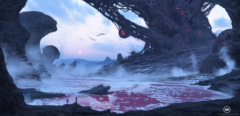 alien village by nandor_m