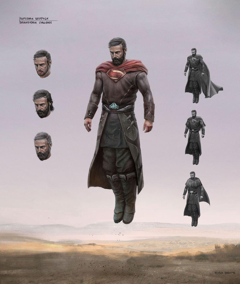 Superman Mobo Boehme