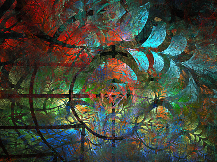 Digitale Kunst Seasons Jpg Digitale Kunst Door Mary Raven Artmajeur