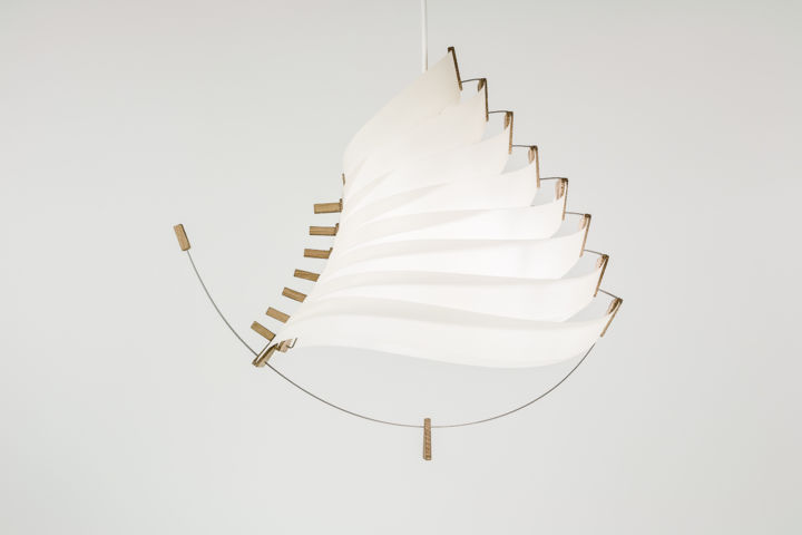 Suspension Luminaire Papier Luminaire Luste Suspension Eole Artisanat Par Mathieu Widloecher