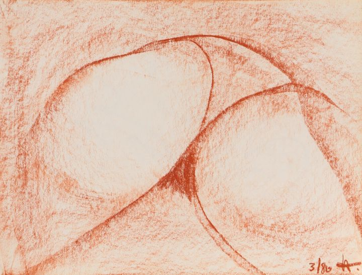 Nude Farbe Nude I Painting By Ulli Heupel Artmajeur