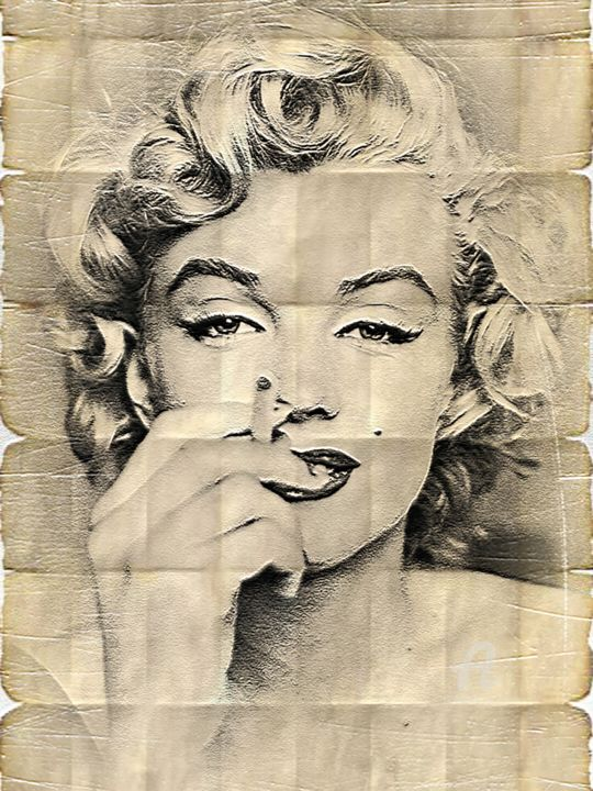 Marilyn Monroe Poster Marilyn Monroe Phenomena Preview Print