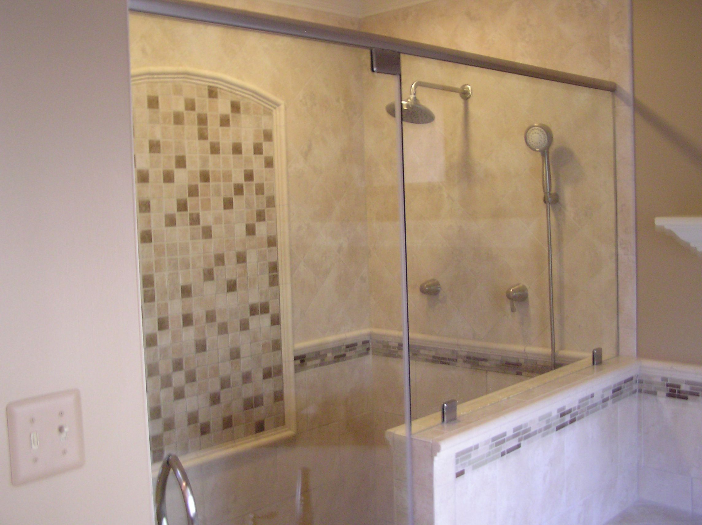 Ideas For Shower Tile Designs Artmakehome