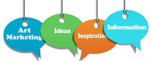 art marketing ideas