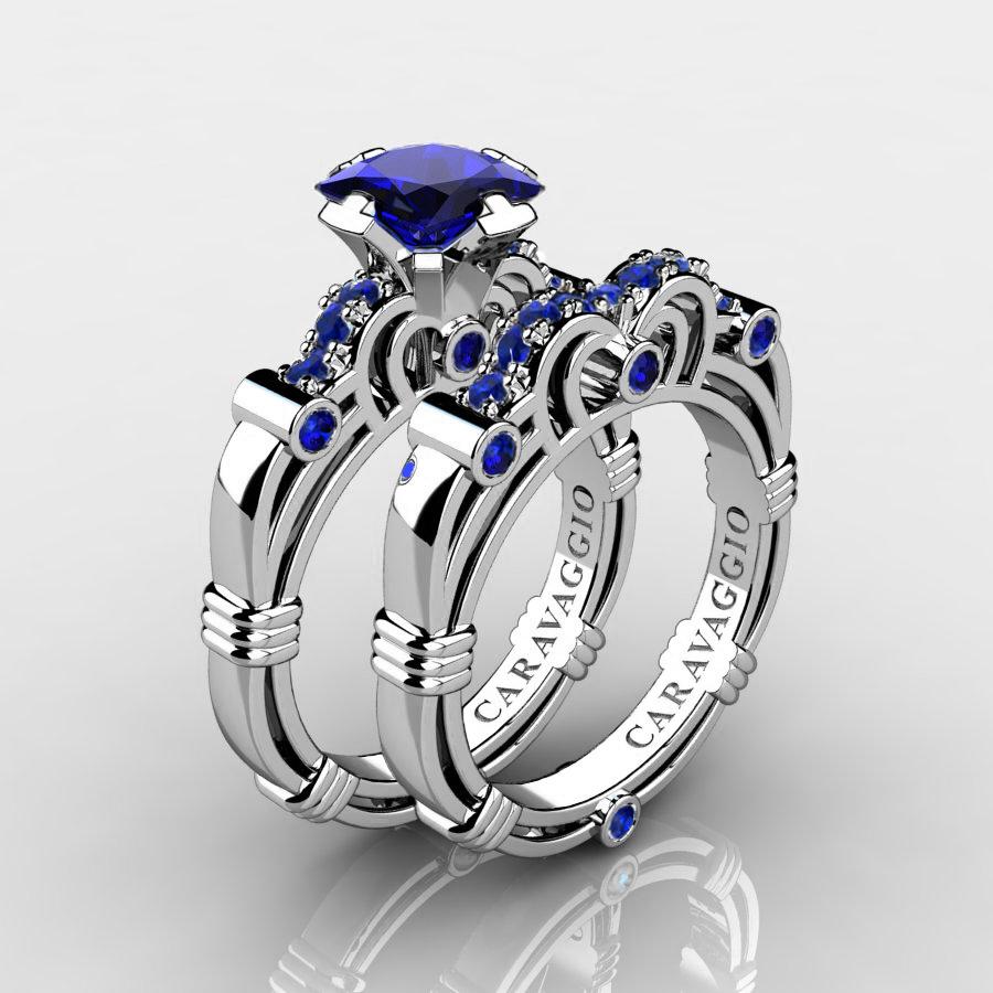 tungsten wedding ring sets blue wedding rings tungsten wedding ring sets