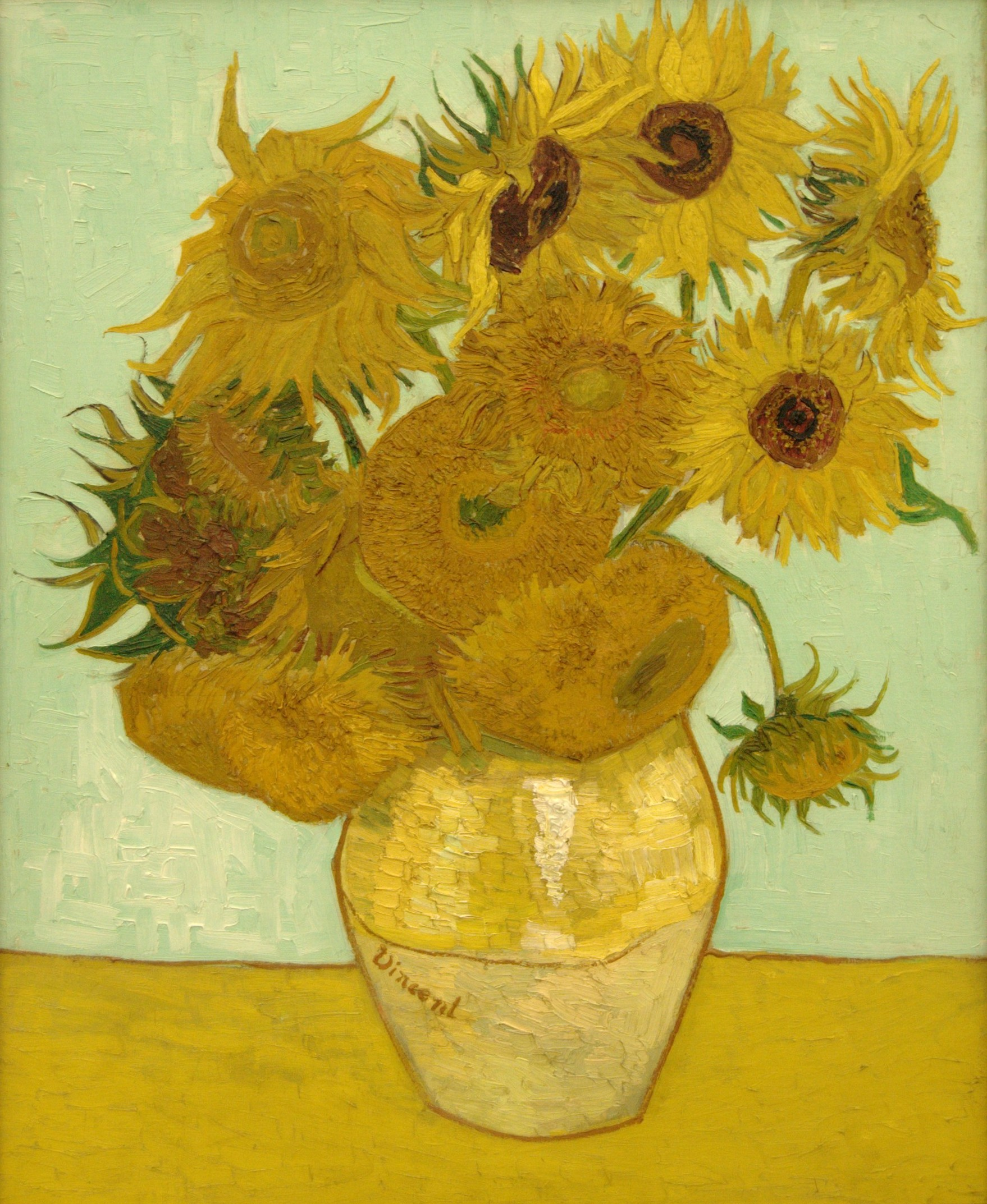 Vincent Van Gogh Paintings Sunflowers Vincent Van Gogh Sunflowers