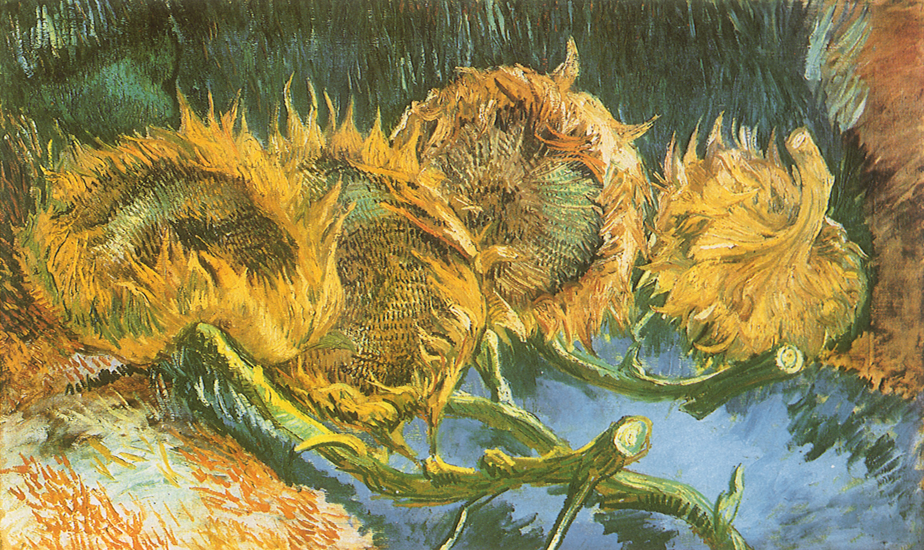Vincent Van Gogh Paintings Sunflowers Circa Art Vincent Van Gogh Vincent Van Gogh 1853 1890