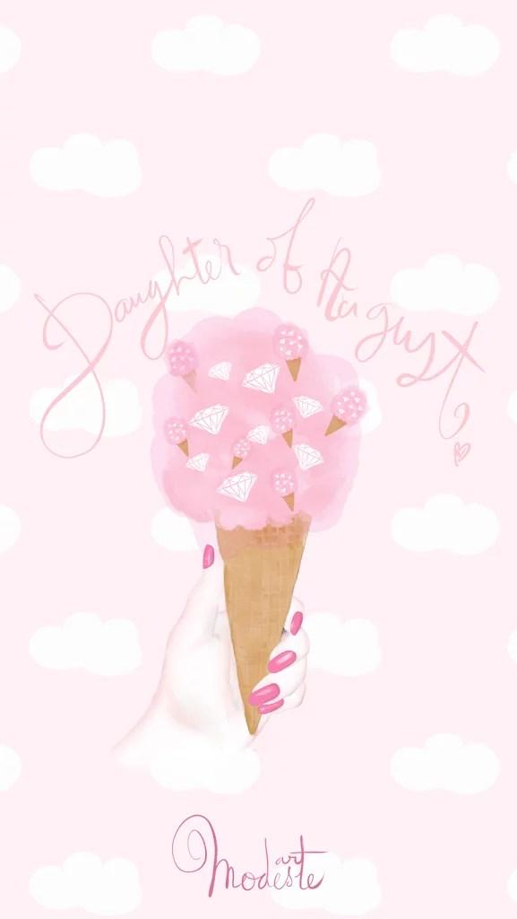Cute Cupcake Wallpaper Projet Quot Summarockin Quot Fond D 233 Cran Quot Hello August Quot Et
