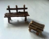 How to make a miniature garden terrace - Art & Craft Ideas