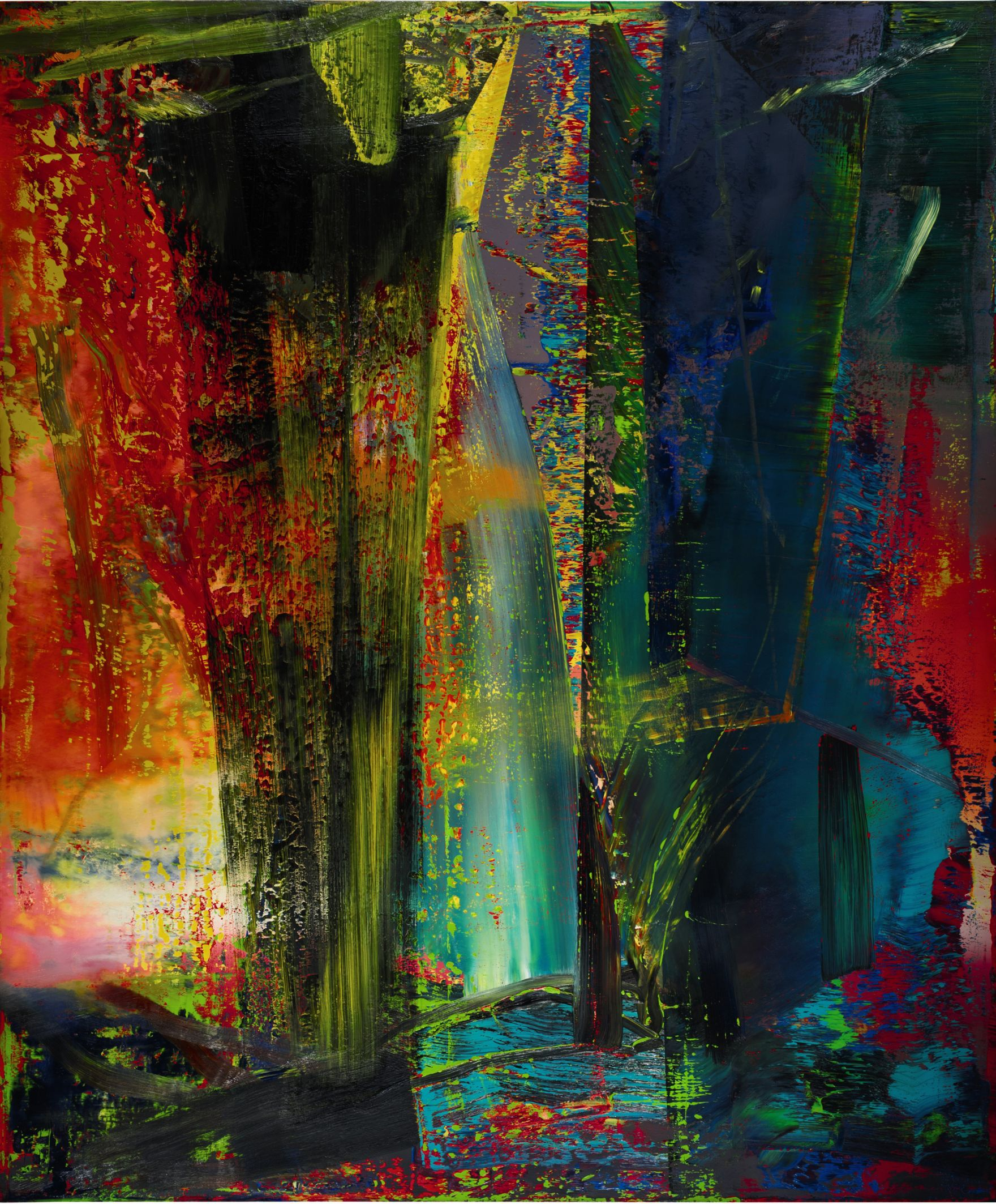 Art Bild New Records For Gerhard Richter Jonas Wood At Buoyant 188 2 M