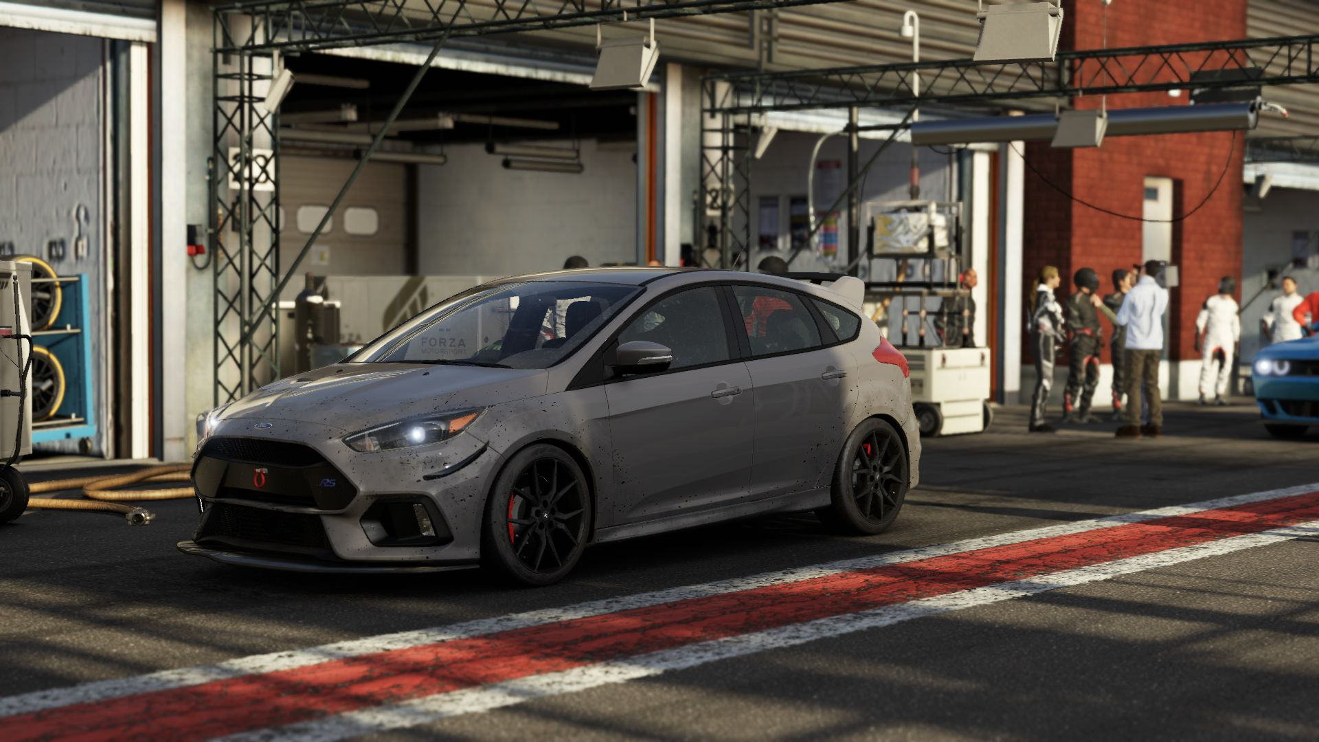 Ford Focus Rs Grey Esports Car Of The Week 2016 Ford Focus Rs Art Of Gears