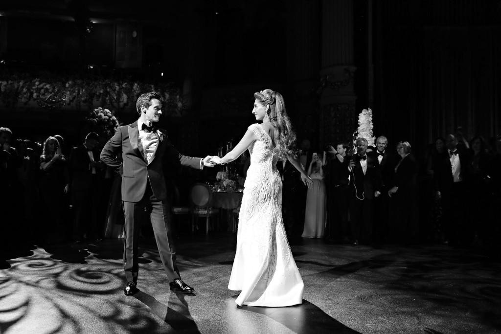 Academy of Music Wedding Reception Marie Labbancz Photography - wedding music for reception