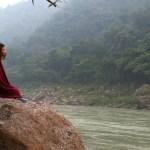 ガンジス河で瞑想する醍醐味