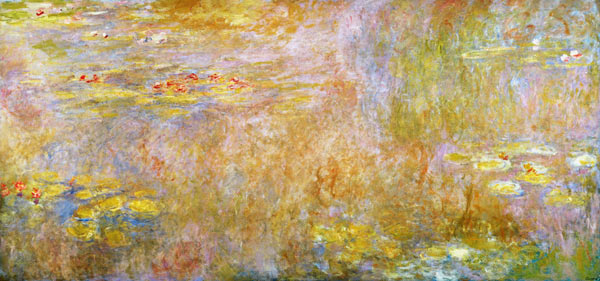 water lilies_monet_impressionism