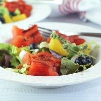 July 4th Grilled Fruit Salad