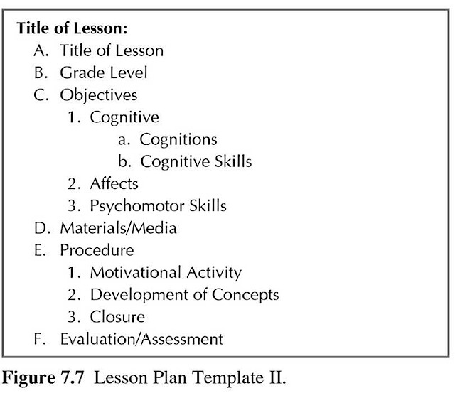 lesson plan template 2 How to Teach Science Education Real Good - art lesson plans template