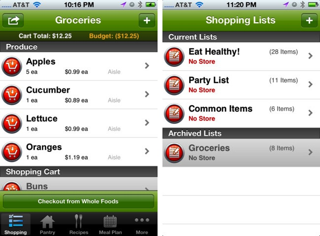 The 5 Best Free Grocery List Apps For IPhone Art Of The IPhone