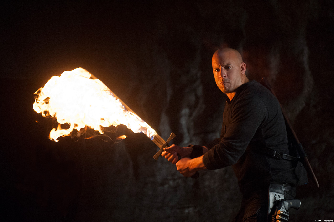 Bad Diesel Set The Last Witch Hunter Nicholas Brooks Production Vfx