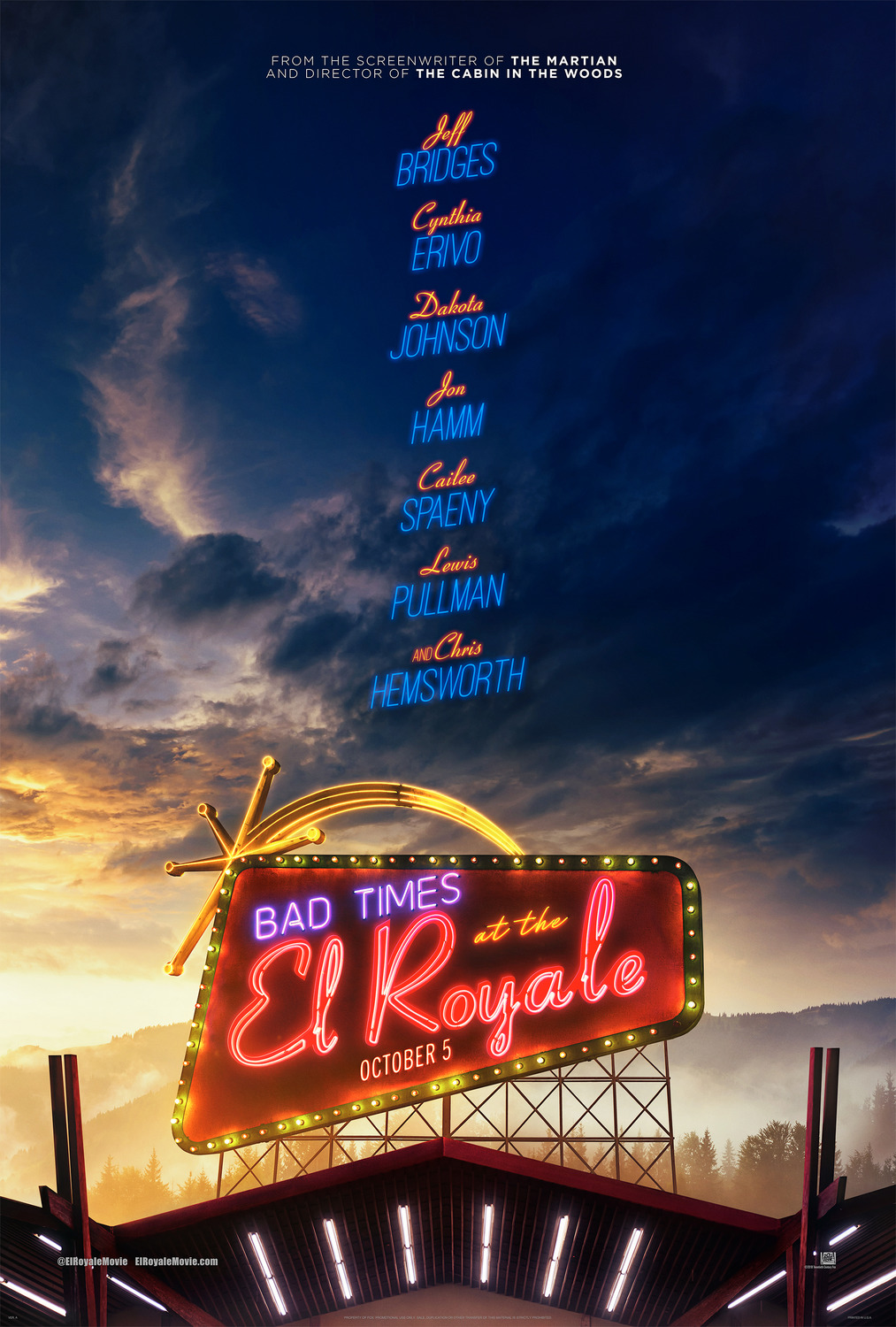 3d Wallpaper Malaysia Bad Times At The El Royale The Art Of Vfxthe Art Of Vfx