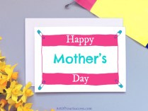 Happy Mother's Day card for runner