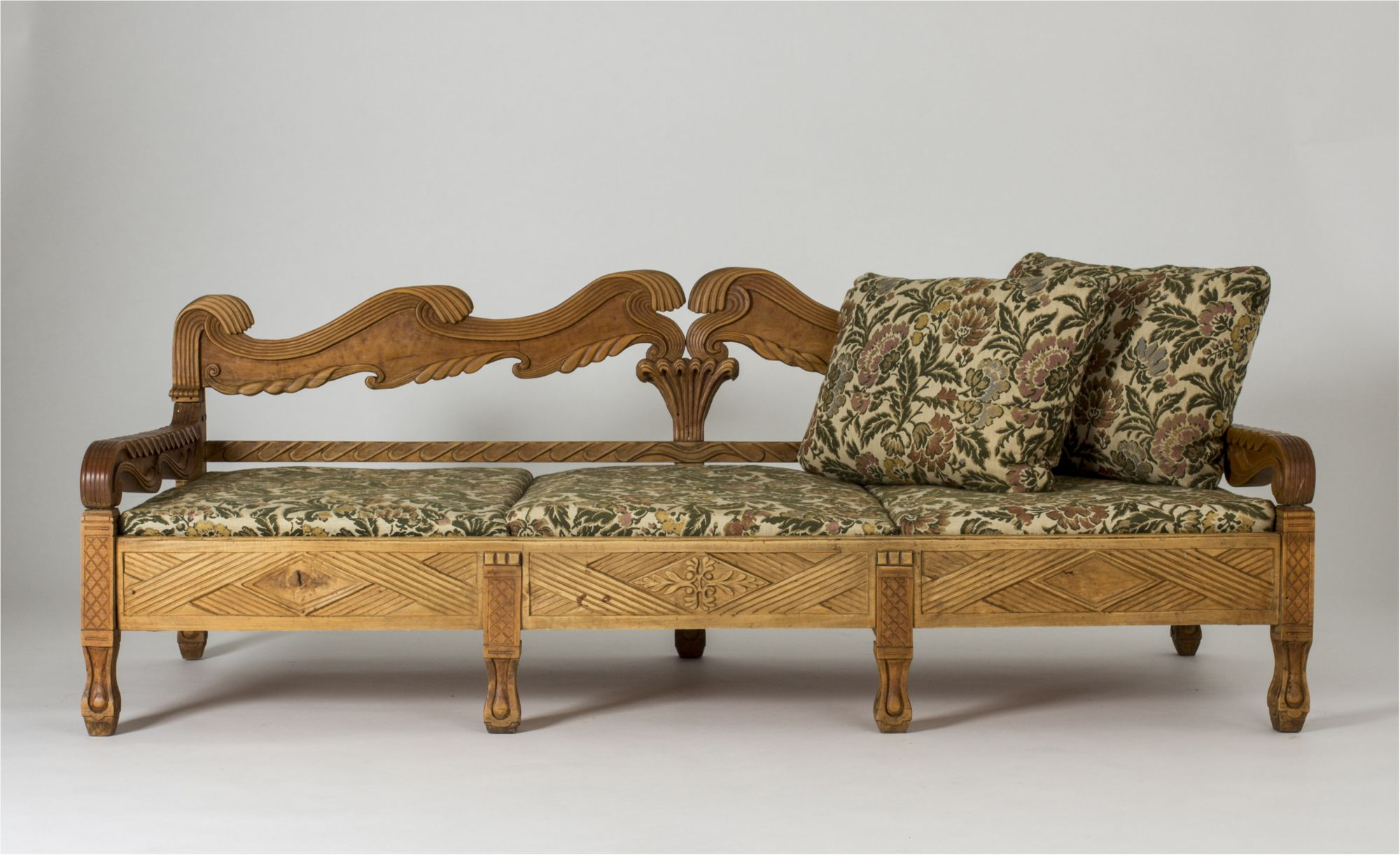 Oak Sofa By Knut Fjaestad