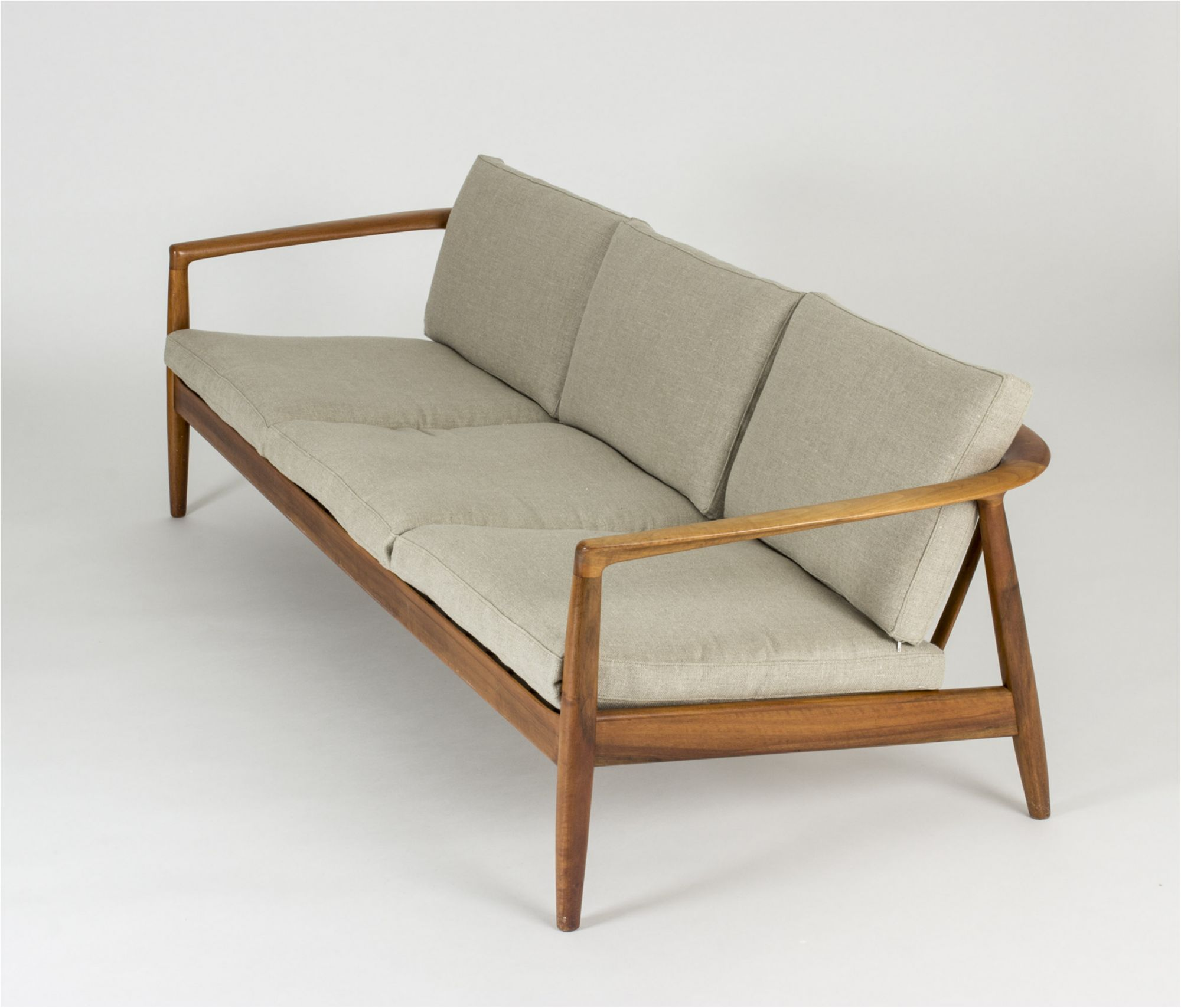Walnut Sofa By Folke Ohlsson