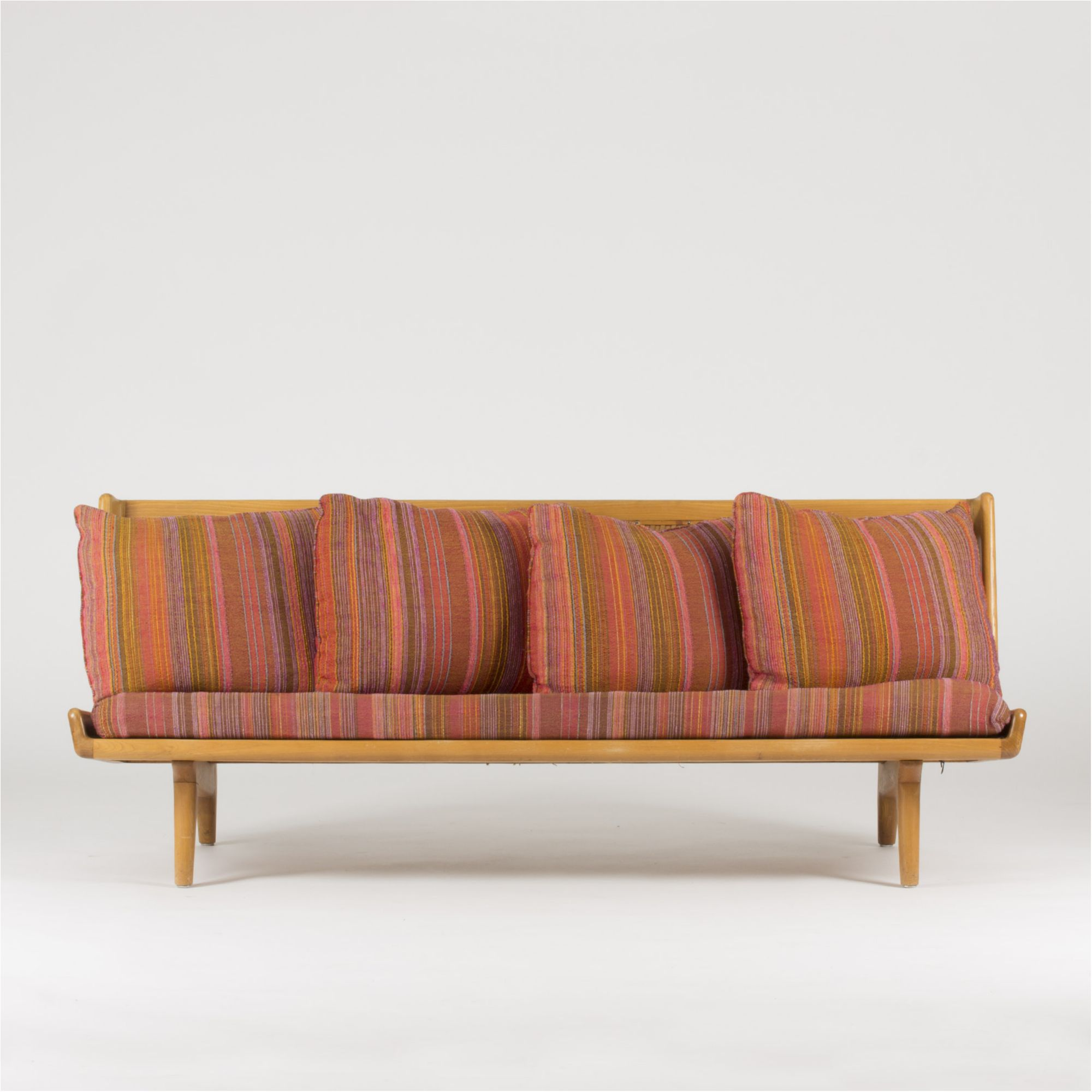 Sofa With Leather Webbing By Gustaf Hiort Af Ornäs