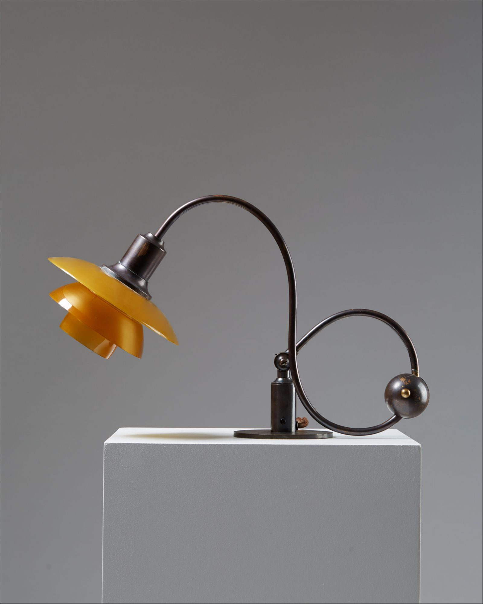 Poul Henningsen Lampe Adjustable Piano Lamp Ph 2 2 By Poul Henningsen For Louis Poulsen