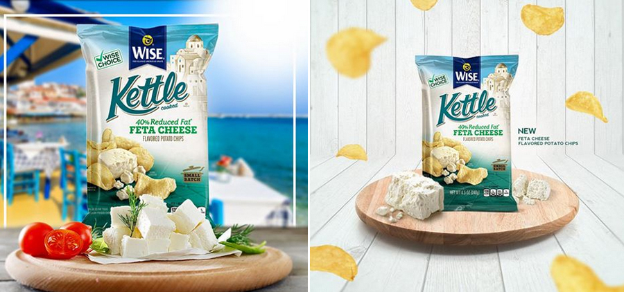 Wise Kettle Feta Cheese Chips