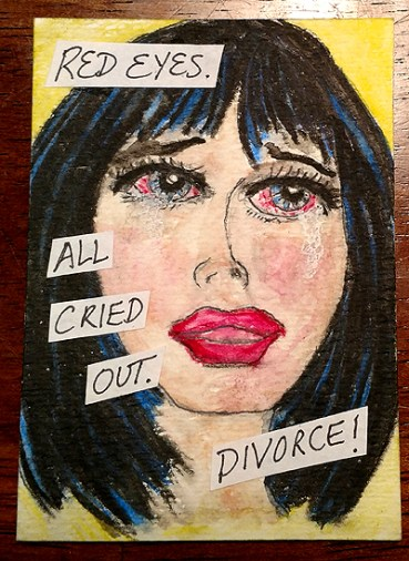 Six Word Stories - All Cried Out