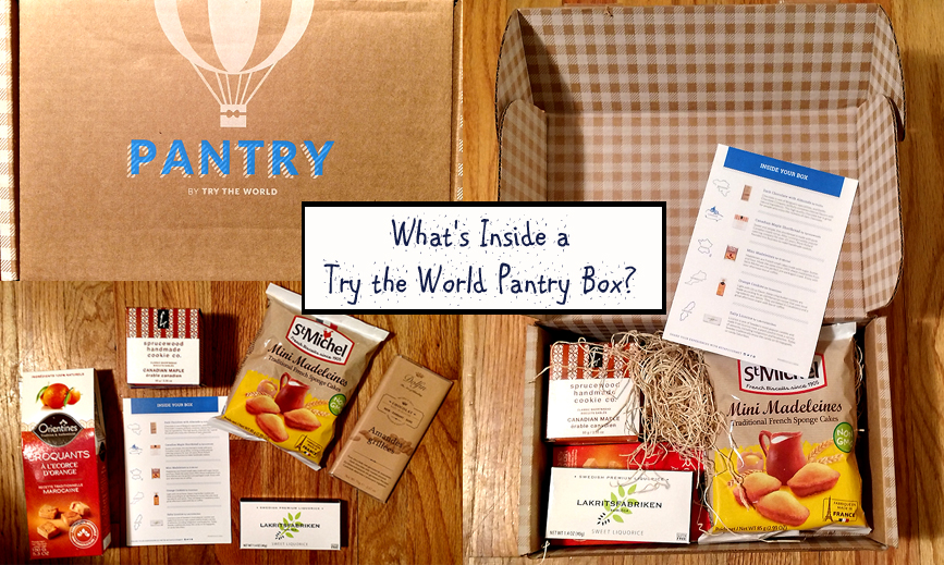 What is Inside a Try the World Pantry Subscription Box