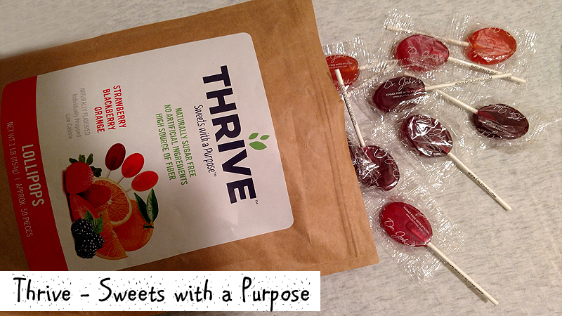 Dr Johns Candies Thrive Sugar Free Lollipops