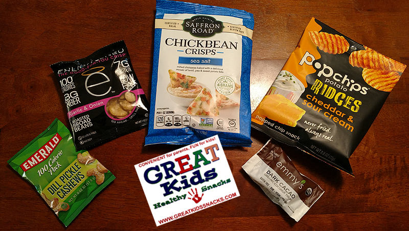 Five Snacks that I Discovered, Thanks to Great Kids Healthy Snacks