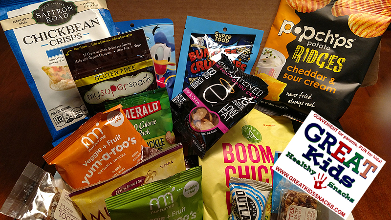 Great Kids Healthy Snacks Subscription