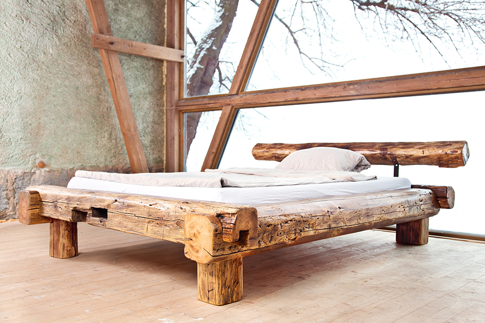 Bett Massiv 180x200 Barn Bed - Art People Gallery
