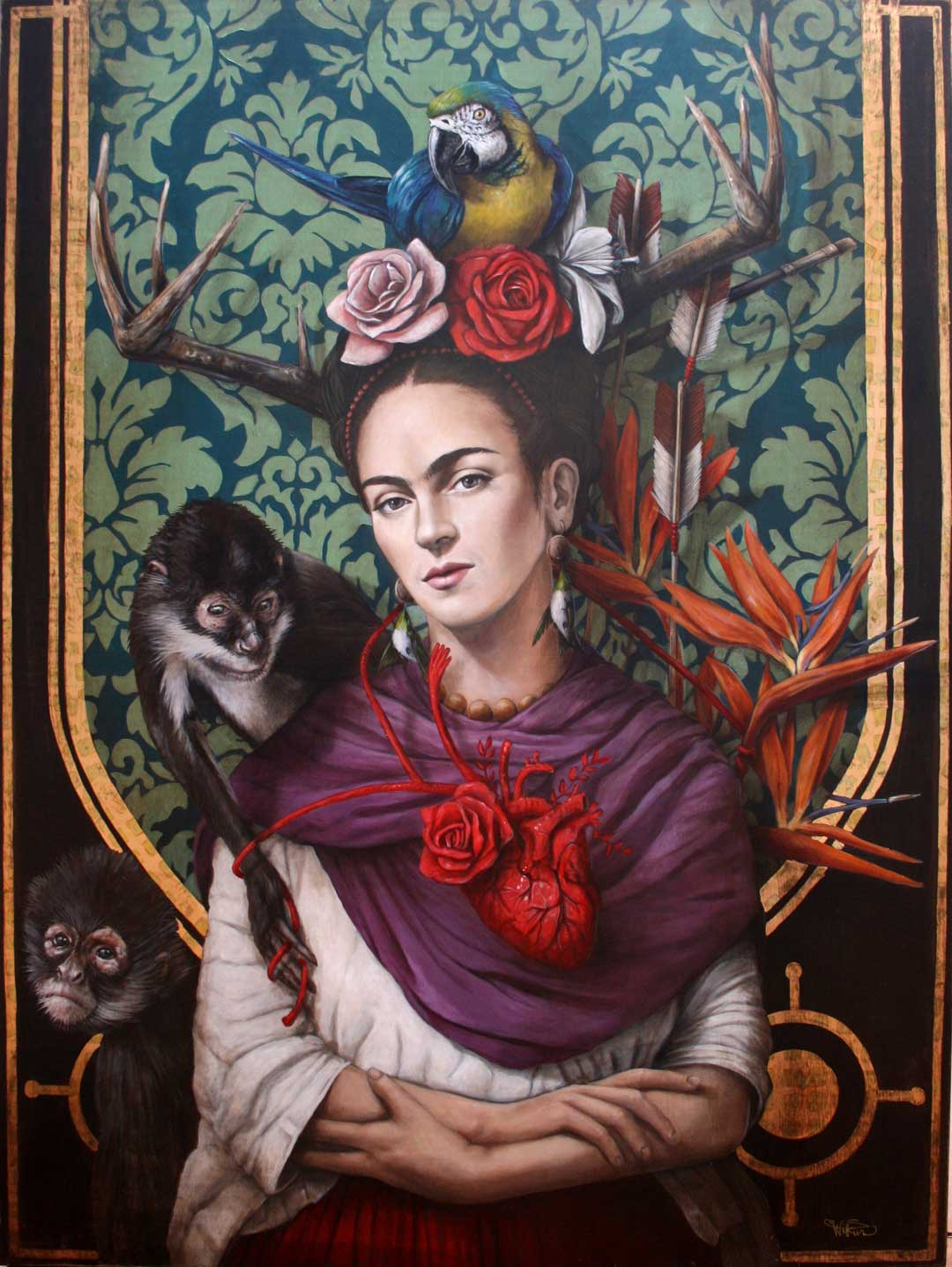 Frida Kahlo Pinturas Sophie Wilkins Arts Art People Gallery