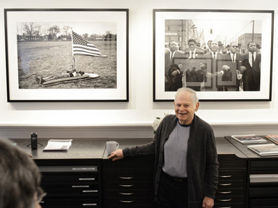 Photographer Steve Schapiro at Jackson Fine Art in Atlanta
