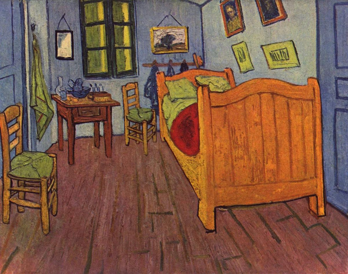 La Camera Da Letto Vincent Van Gogh Camminare Dentro La Camera Di Van Gogh A Milano Artribune