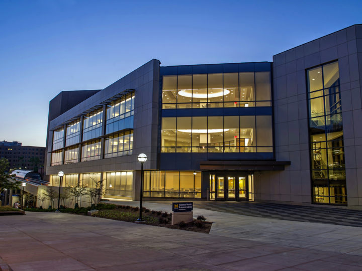 A grand space for learning U-M reopens Taubman Health Sciences