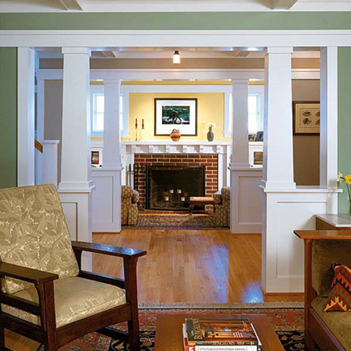 Woodwork Finishes For The Craftsman Home Design For The Arts Crafts House Arts Crafts Homes Online