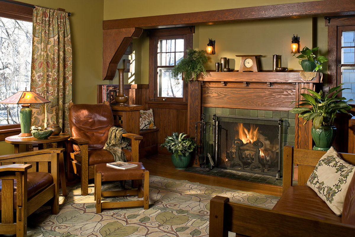 Interior Color Palettes For Arts Crafts Homes Design