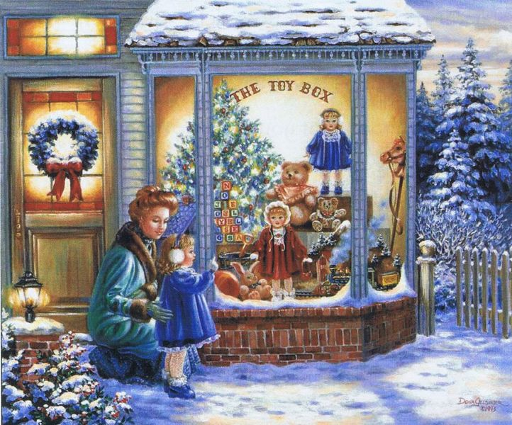 Frohe Weihnachten Gif The Toy Box - Cross Stitch Pattern By Heaven And Earth Designs