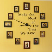 Large Photo Wall Clock DIY