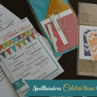 Spellbinders Celebra'tions Stamping Collection Review with a Bonus Craft
