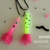 DIY Glowing Monster/Alien Pendant