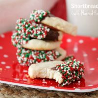 Shortbread Cookies (With Idahoan Mashed Potatoes!) and a Giveaway