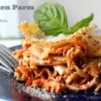 Chicken Parm Lasagna Recipe   Make Your Mealtime Saucesome