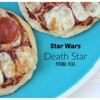 Star Wars Death Star Pizza (and String Cheese Storm Troopers!)