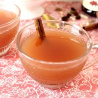 Warm Lingonberry Spiced Punch (Cider/ Non-Alcoholic Glögg) Recipe