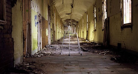 Psychogeography of closed mental hospitals explored in Urban Desolation
